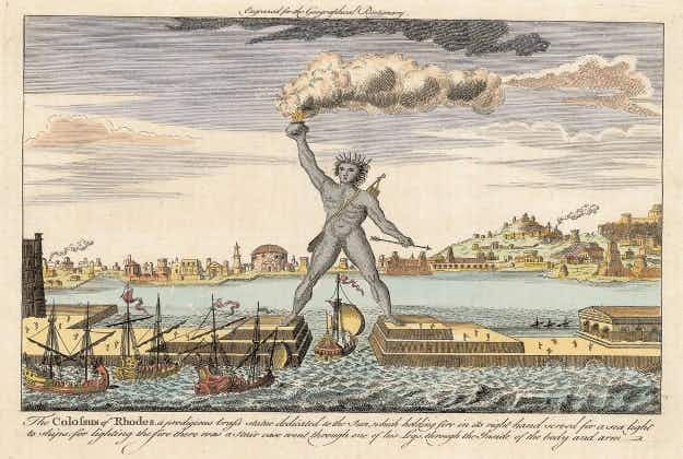 Greece to build new Colossus of Rhodes taller than Statue of Liberty