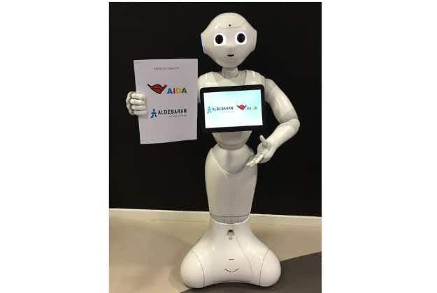 Humanoid robots to join European cruise line staff