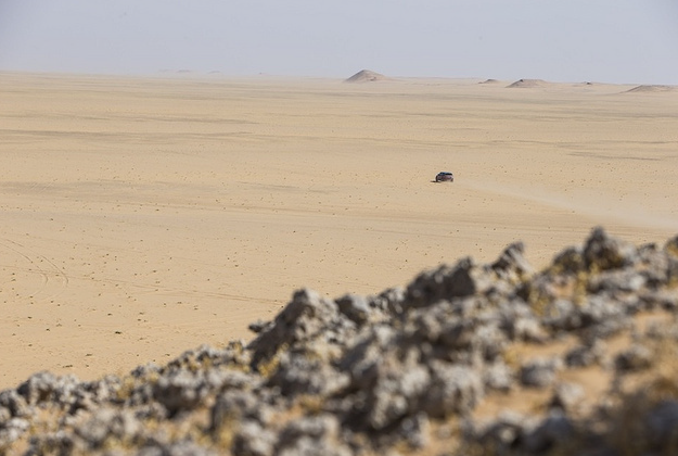 British explorer leads trek across Empty Quarter