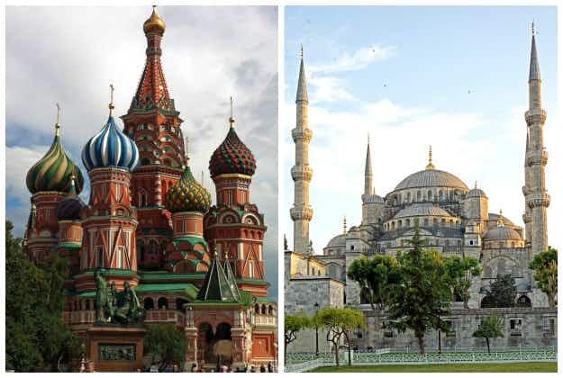 Turkey & Russia trade holiday destination warnings