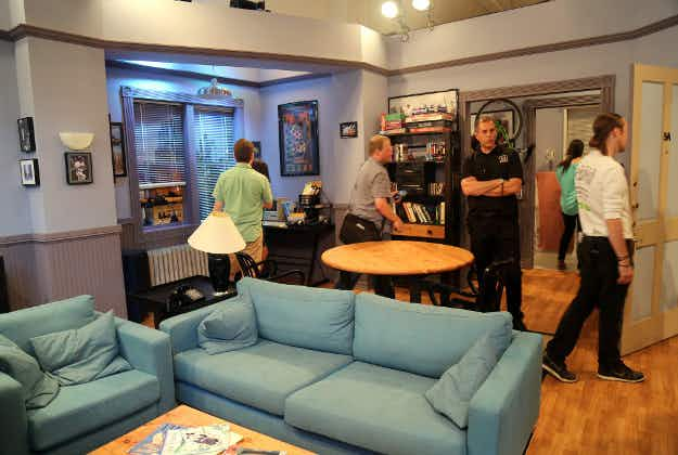 Happy Holidays! You can celebrate Festivus at Seinfeld's LA apartment