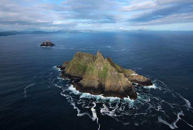 Stunning Skellig Michael takes centre stage in Star Wars tourism drive