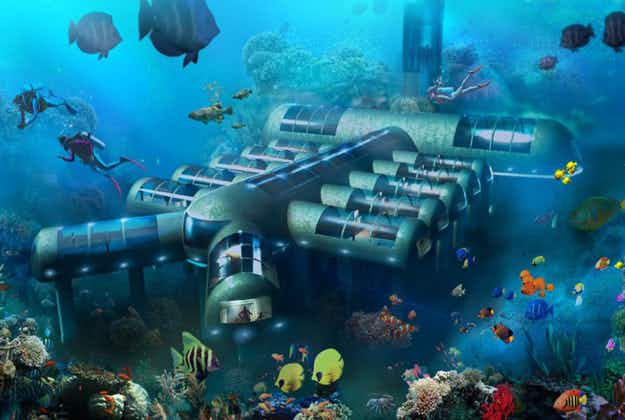 Underwater hotel gets go-ahead in Florida