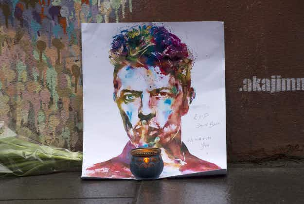 Tributes to Bowie spring up around the world