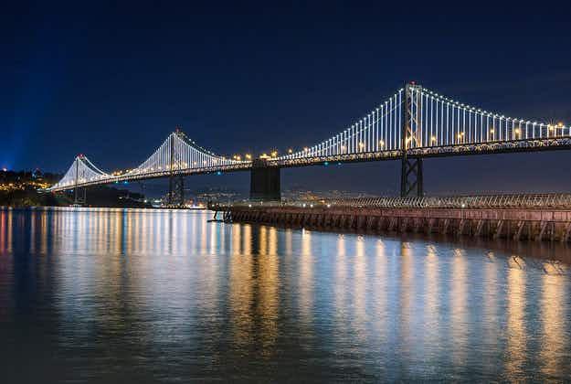 Twinkling lights return to Bay Bridge for good