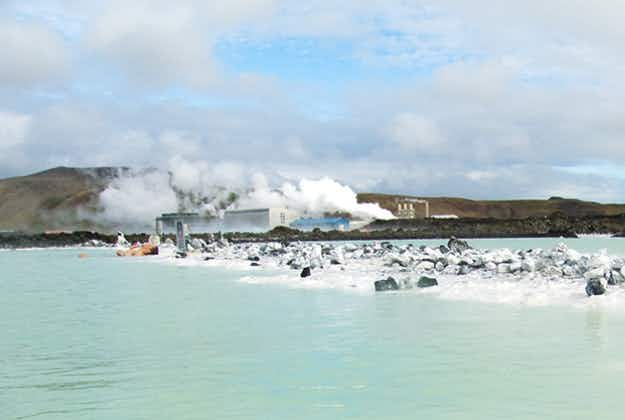 Iceland's unlikely tourist hit: geothermal power stations attracting visitors