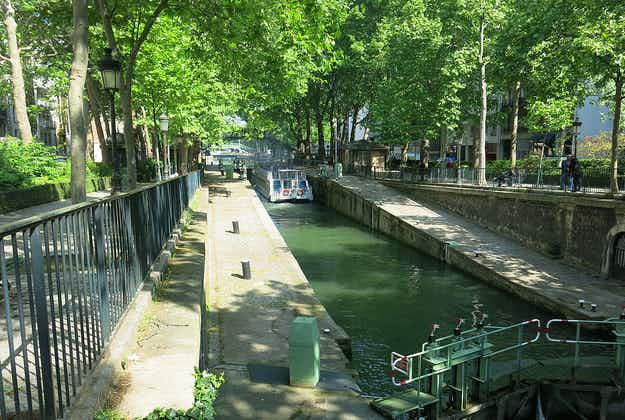 Treasures and trash found in Paris canal dredging