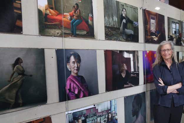 Annie Leibovitz exhibit starts world tour in London