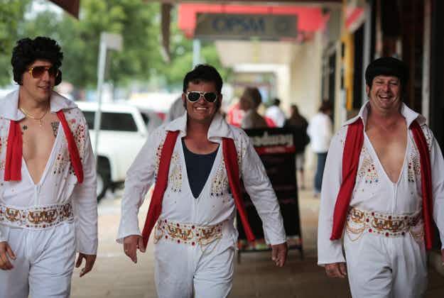 King fever: Elvis festival kicks off down under