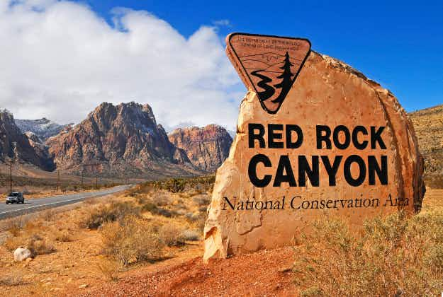 Red Rock Canyon free for Martin Luther King Jr Day