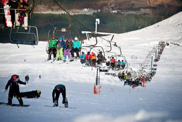 Scottish ski areas open after wintry weather hits