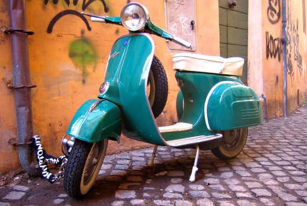 Uproar as Vespa scooters banned from Genoa