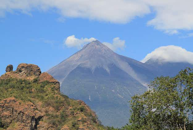 Multiple eruptions at Guatemala's Fire Volcano