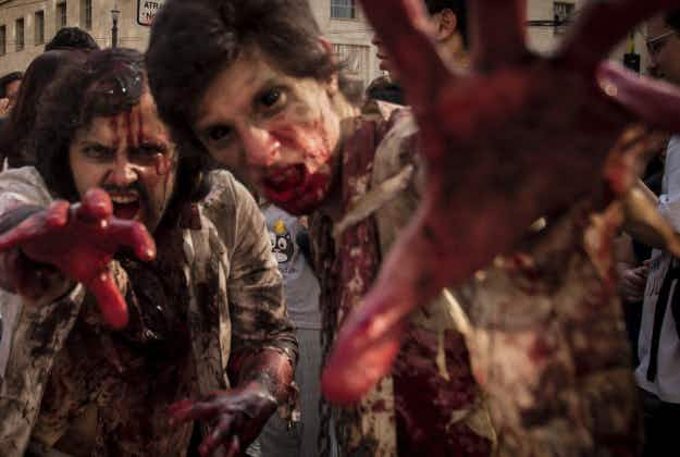 The zombies will set sail Friday aboard Walking Dead cruise