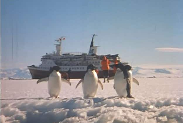 Archival footage captures 50 years of Antarctic travel