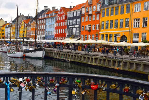 Denmark is Airbnb's top travel destination for Valentine's Day