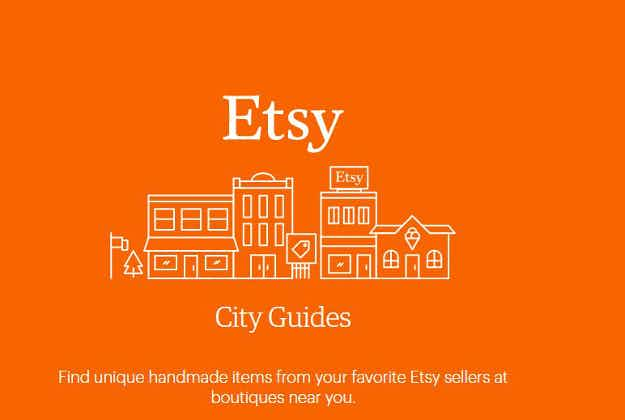 Shop offline when you travel - Etsy launches US city guides