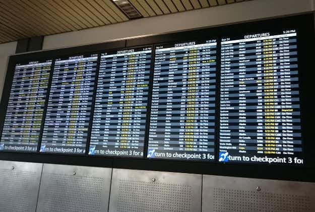 Pick your flight time to avoid delayed arrival time