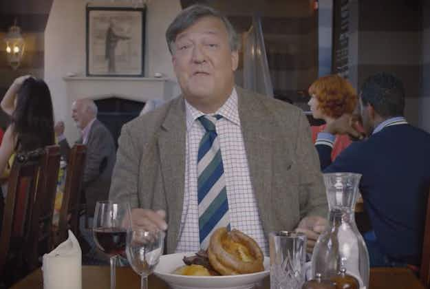 Stephen Fry gives etiquette advice to Heathrow visitors