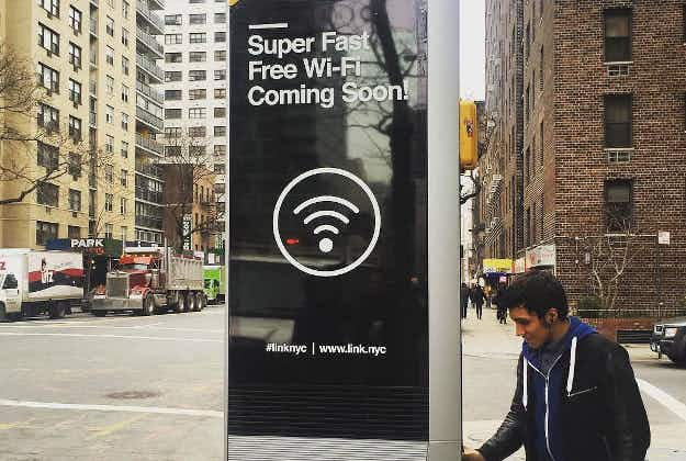 New York set to roll out free high-speed Wi-Fi service