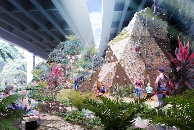 Singapore transforms old railway into new parks