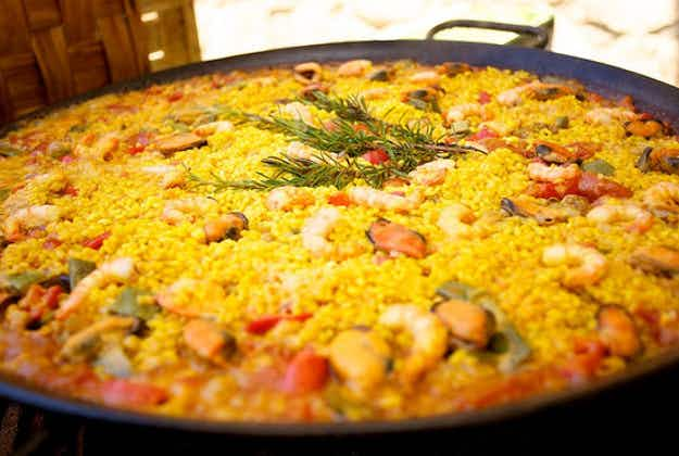 The simple paella that's being heralded as the best in the world by Michelin-starred chefs