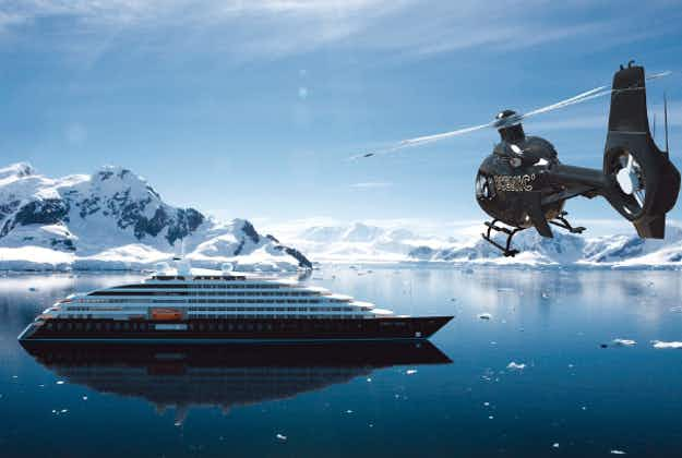 Ultimate cruise comes with helicopter and submarine