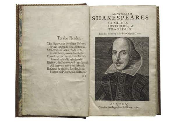 Here's how the world is celebrating the 400th anniversary of Shakespeare's death