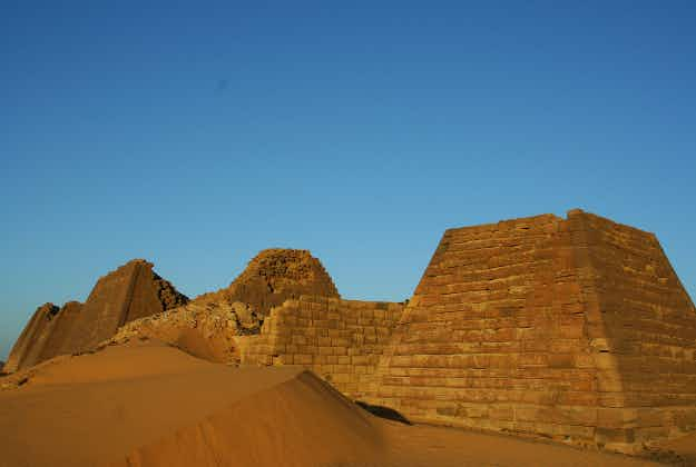 Sudan's amazing pyramids only seen by the few