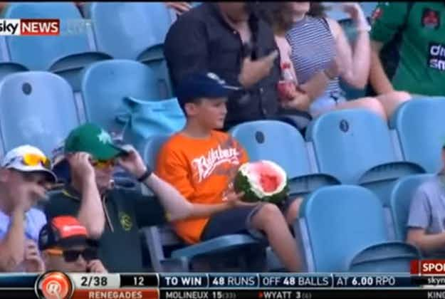 Melbourne watermelon boy video goes viral
