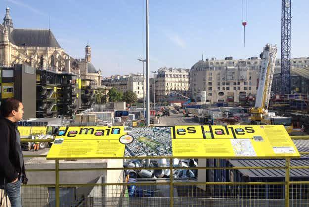 Les Halles redevelopment in Paris close to finish