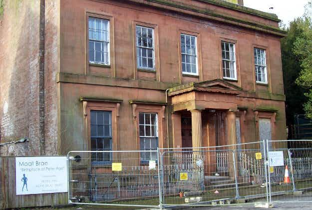 Scottish home of Peter Pan to become storytelling centre