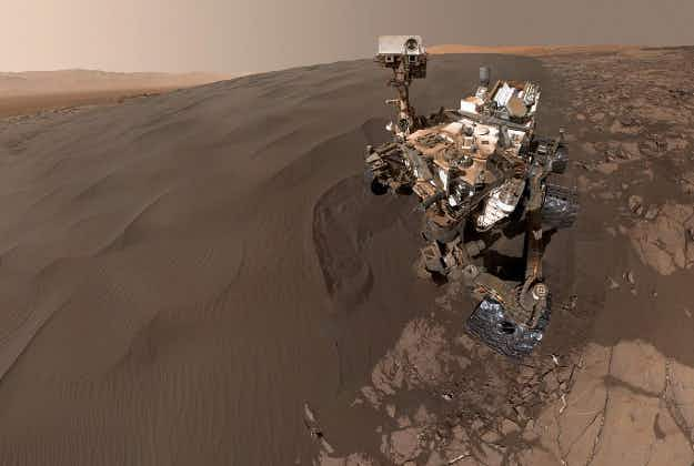 NASA posts Curiosity's selfie and a 360-degree view fromMars