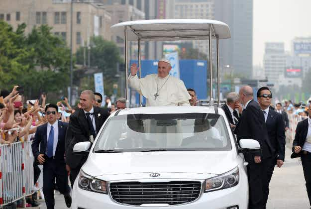 Mexico to welcome Pope with 21st-century parade