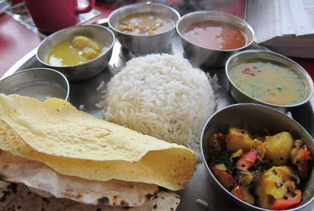 Air India trials first on-board thali meals