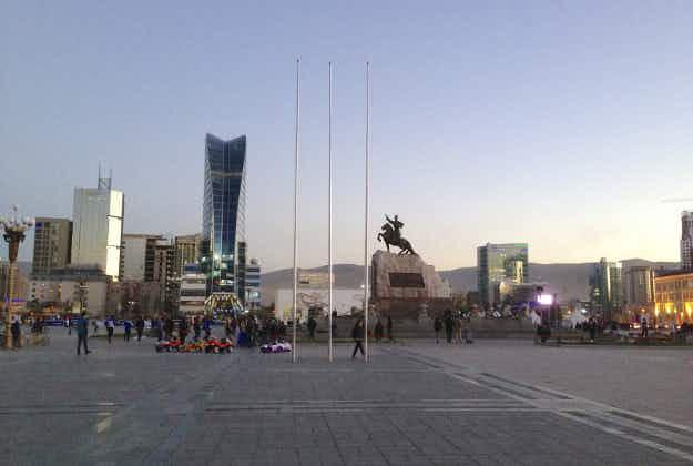 Ulaanbaatar's train station opens after refurbishment
