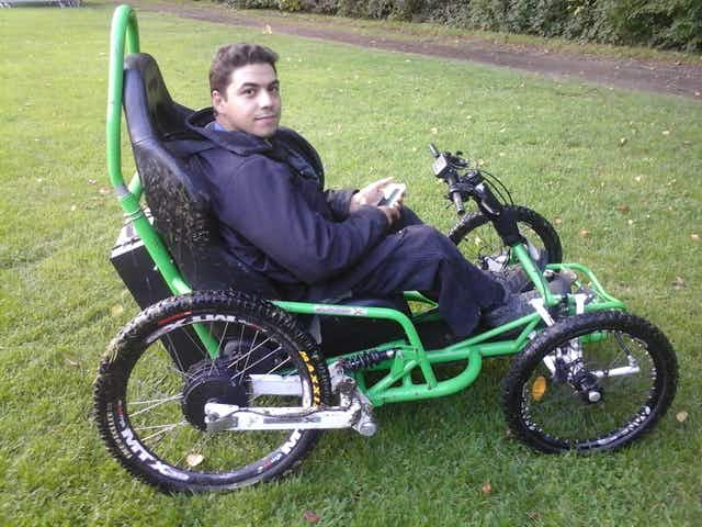 Disabled man to complete tour of France by wheelchair