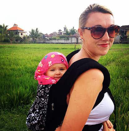 Meet backpacking baby Esmé and her travel-mad mum!