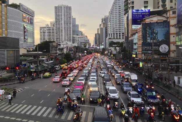 Uber launches moto-taxi service in Bangkok