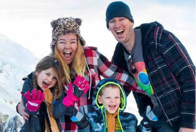 Intrepid Aussie couple travel to 65 countries - with their kids in tow!