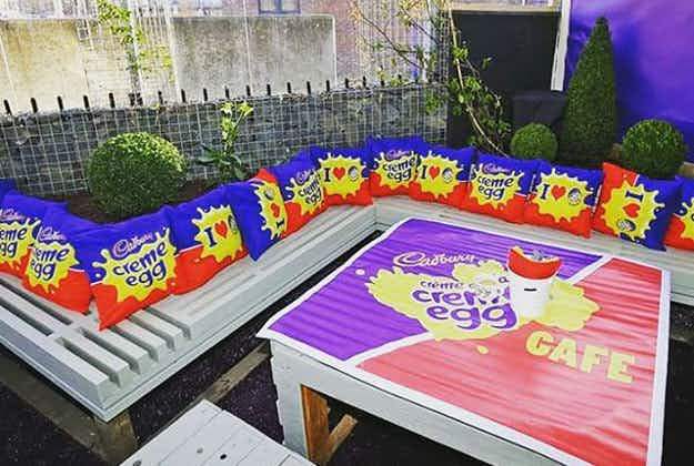CadburyCreme Eggs pop-up in Dublin in time for Easter