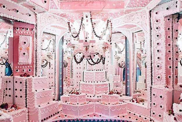 Six-chamber creepy cake-maze opens in LA gallery