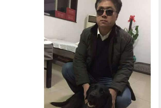 Stolen dog in China sparks outrage on social media
