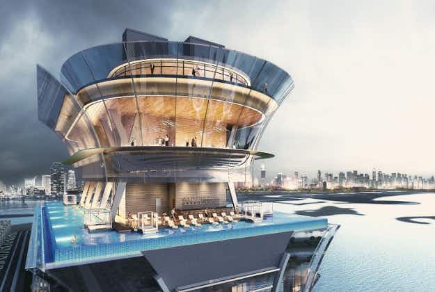 Only in Dubai: hotel offers 50th floor infinity pool