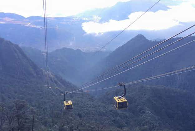 Record-breaking cable car opens at Vietnam's tallest mountain