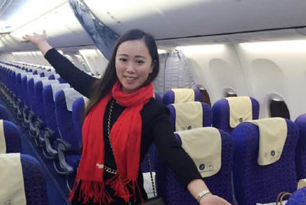 Only passenger on Chinese New Year flight gets VIP care