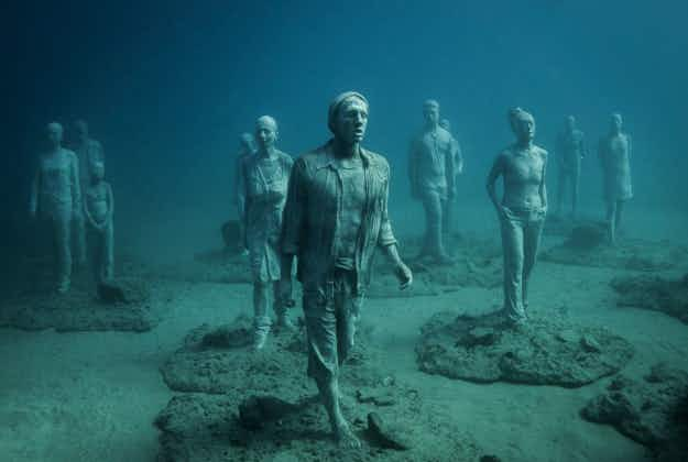 Snorkels at the ready: Europe's first underwater museum created in Lanzarote