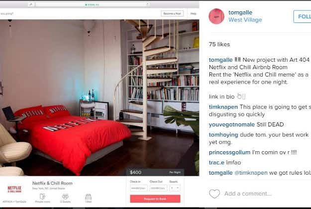 Netflix and Chill? Now you really can in a New York Airbnb