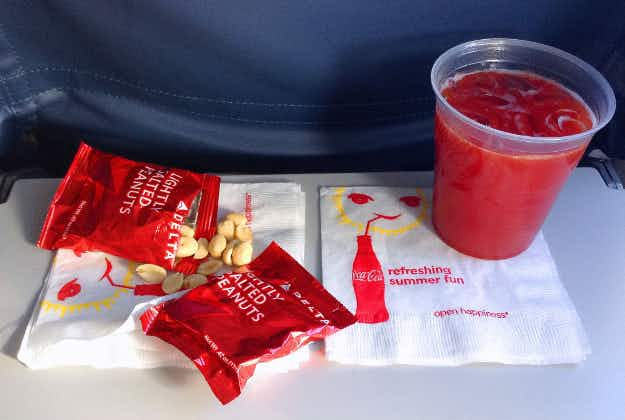 Beware in-flight snacks with mark-ups of 2000%