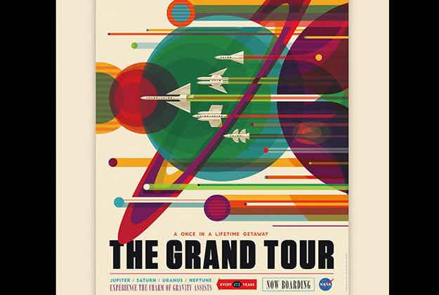 Once in a lifetime getaway - art to inspire space tourism